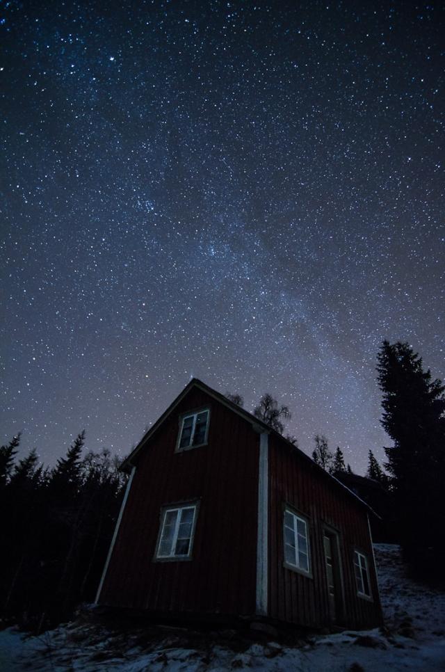 Huset Under Melkeveien. 40 poeng. © Kolbein Svensson
