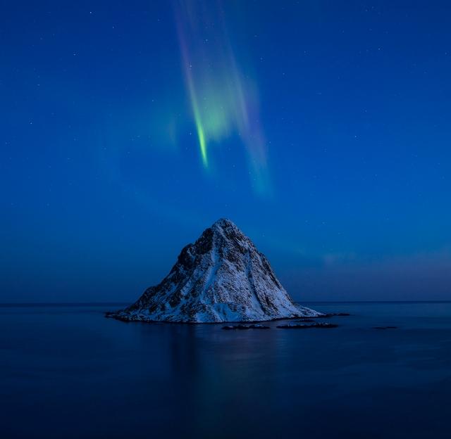 Auroras siste kjærlighetserklæring. Gull. © Audun Rikardsen