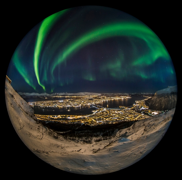Nordlysbyen. 43 poeng. © Audun Rikardsen