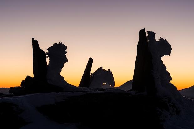 Tre slitne vandrere. 43 poeng. © Jan R. Olsen