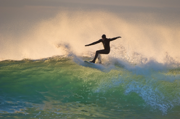 Bølgen. 43 poeng.  © Helge Helland