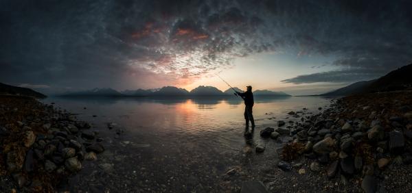 Kveldsfiske. Gull. © Jan R. Olsen