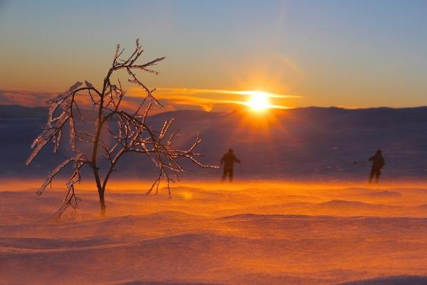 Solnedgang på fjellet. 44 poeng. © Simen Haughom