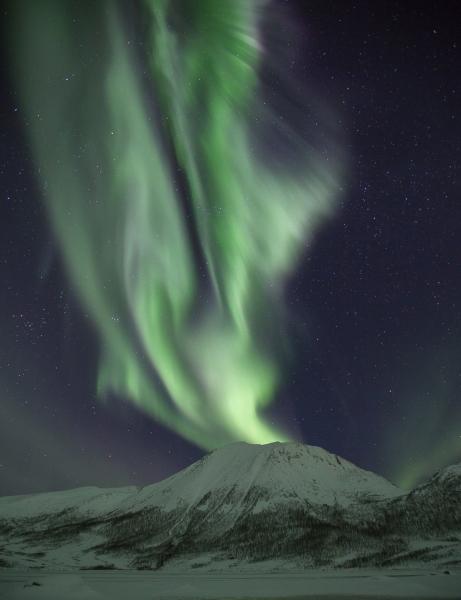 Nordlysvulkan. 42 poeng. © Viggo Hansen